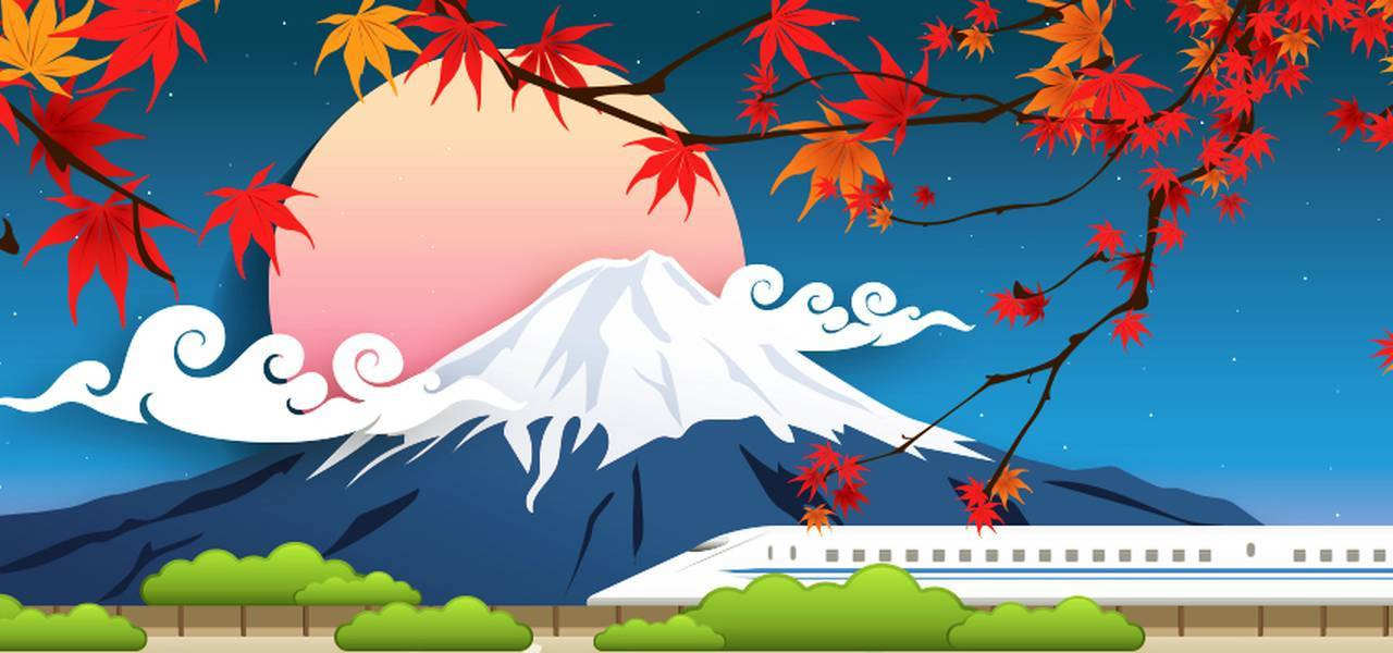 A symphony of autumn colors comes to Japan